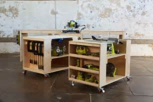build a tool bench white ultimate roll away workbench system for ryobi