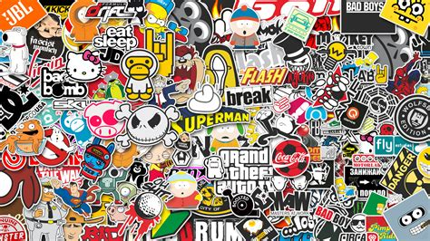 jdm sticker bomb jdm logo vector image 303