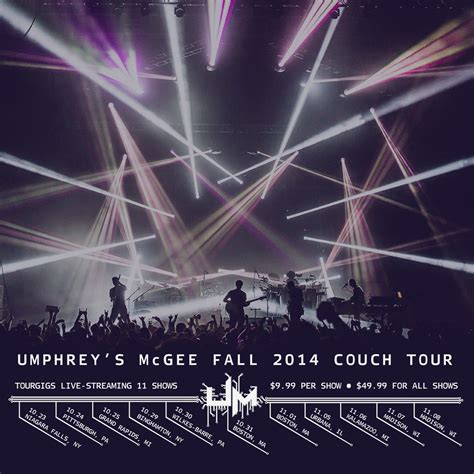 couch tour fall couch tour umphrey s mcgee