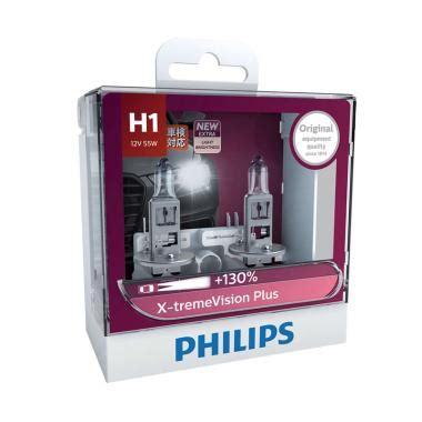 Bohlam Lu Philips H7 Vision 4300k jual produk lu halogen philips harga promo diskon