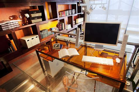 Home Office Design Nyc Loft Contemporary Home Office New
