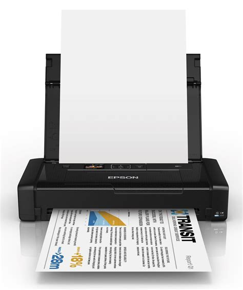 Printer Epson Workforce Wf 100 Epson Workforce Wf 100 Mobile Printer Review Computershopper