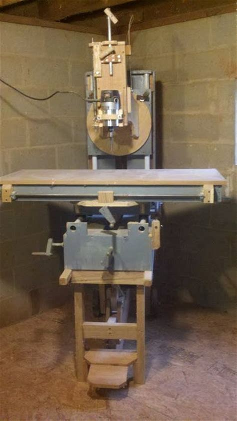 shop made woodworking machines router milling machine by mark55 lumberjocks
