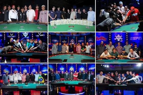 wsop table the nine a retrospective wsop event tables of the
