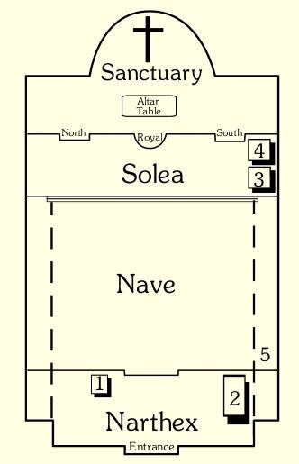 parts of a floor plan cruciform floor plan meze blog