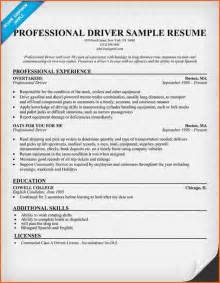 Resume genius truck driver resume samples cdl truck driver resume