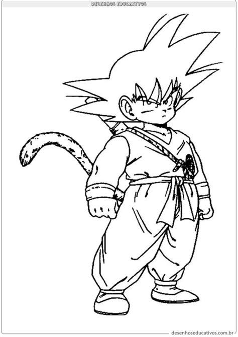 30 Desenhos para Colorir do Dragon Ball - Imprimir e