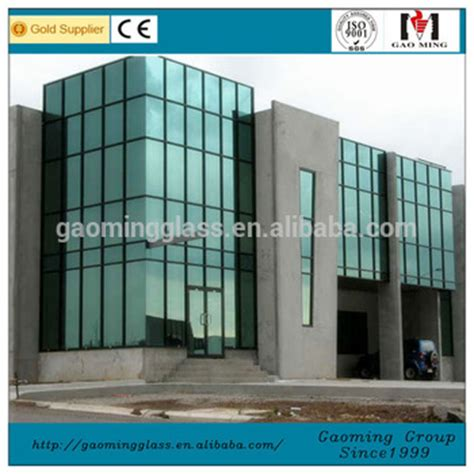exterior glass wall panels cost price of curtain walls aluminum composite panel low e