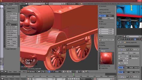 blender tutorial train thomas the train modelling timelapse in blender youtube