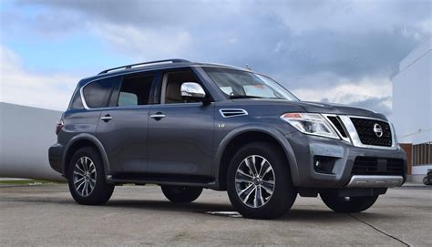 nissan armada platinum 2017 nissan armada platinum road test review by tim