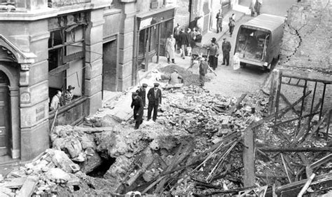 show damage london hitlers blitz years