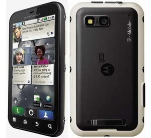 Motorola Rugged Smartphone by T Mobile Motorola Defy Rugged Android Smartphone Review