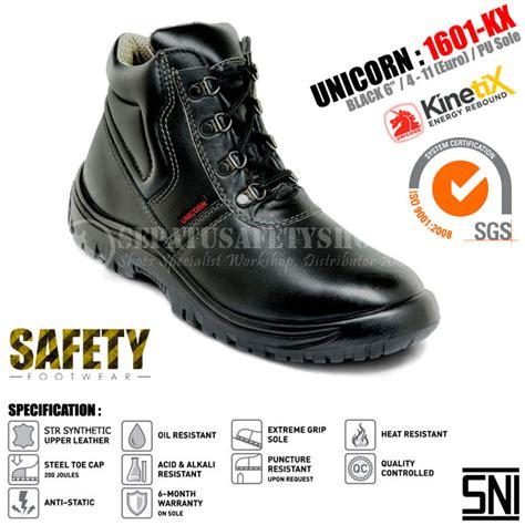 Sepatu Safety Raindoz sepatu safety unicorn 1601kx sepatusafetyshoes