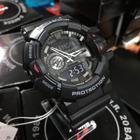 Casio G Shock Ga400 Black casio g shock ga 400 1b black edition