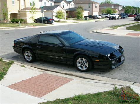 1986 camaro z28 value 1986 clean black t top iroc z camaro
