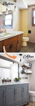 Bathroom Makeovers 2017 28 Best Budget Friendly Bathroom Makeover Ideas And