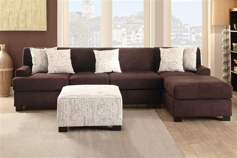 brown fabric sofa poundex nia f7981 brown fabric sofa a sofa