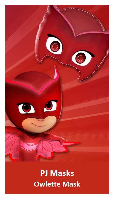 printable owlette mask 50 best pj masks images on pinterest pjs disney jr and