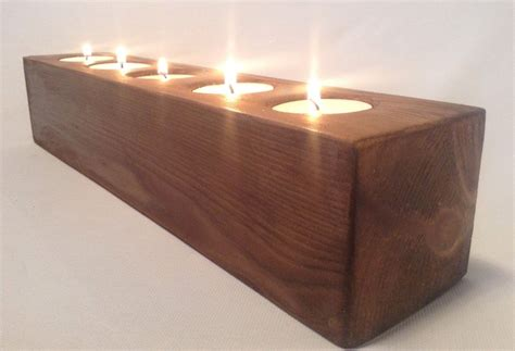 Handcrafted Candle Holders - wooden handcrafted tea light candle holder ebay