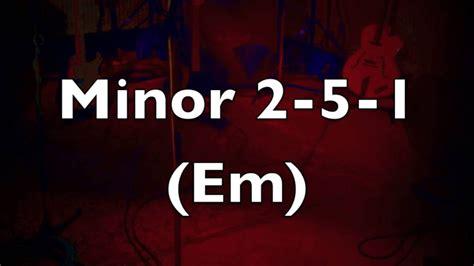 minor swing backing track minor 2 5 1 medium swing jazz backing track em youtube