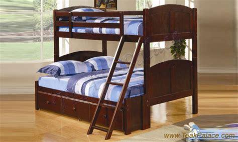 Tempat Tidur Kayu Laci model dan desain tempat tidur tingkat untuk anak anak