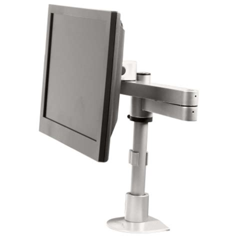 long reach desk l long reach monitor mount for the desk up to 40 lbs