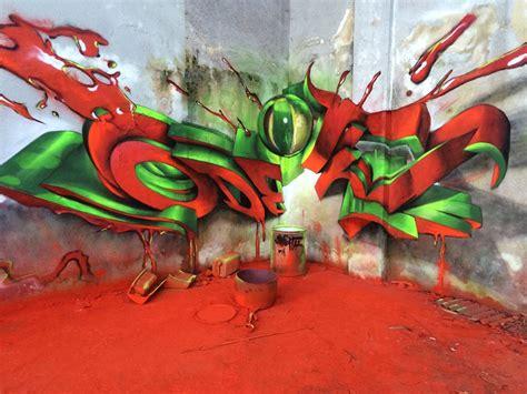 incredibly bad ass  graffiti murals  odeith