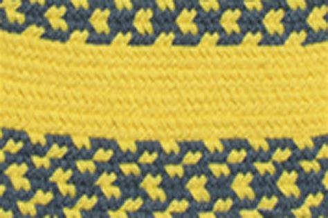 yellow braided rug williamsburg blue nautical yellow nautical yellow band braided rug