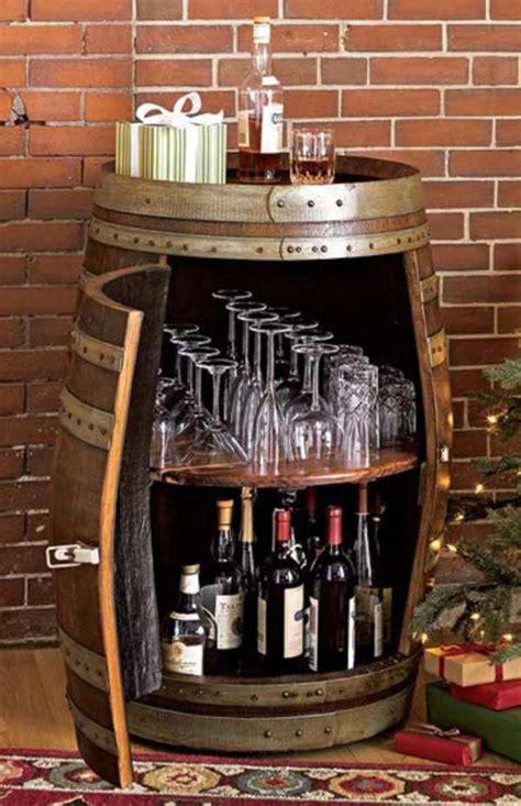 brilliantly creative diy projects reusing  wine barrels