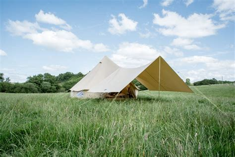 canvas tent awning large awning only for 4m 5m 6m bell tent 400 x 260cm