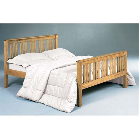 Pine Bed Wooden Bed With Memory Foam Mattress For Sale Bed Frames Halifax