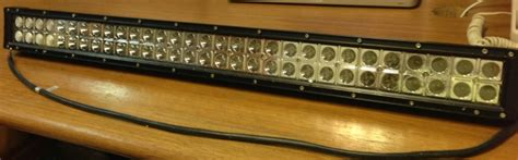 Ok Led Light Bar In Front Or The Grill Just Got 30 Quot Cree Okledlightbar Ford F150 Forum Community Of