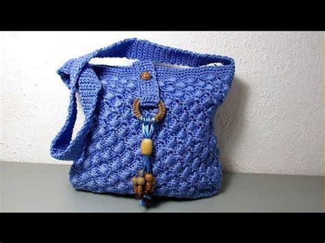 tejer bolsas sencilla a ganchillo bolso cartera en dos colores tejido a crochet paso a