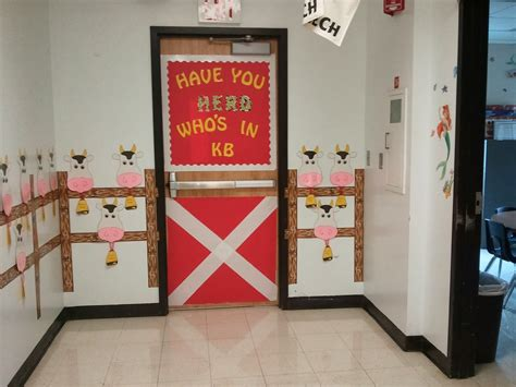Cowboy Door Decorations by Cup Of Kindergarten