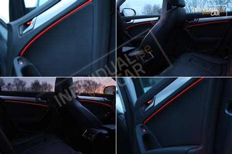 Audi A4 Ambientebeleuchtung by Individualiseyourcar Shop El Ambiente Lichtleiste