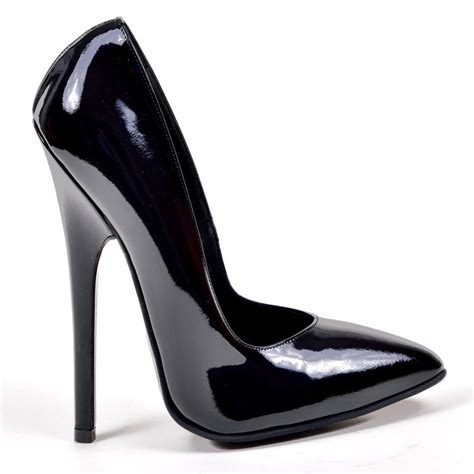 pumps la1919 2443 vernice nera high heels shop by