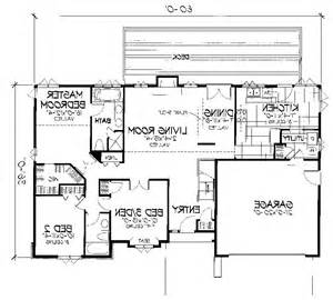 Great One Story 7645 3 Bedrooms And 2 5 Baths The | 28 great one story 7645 3 ranch house plans great