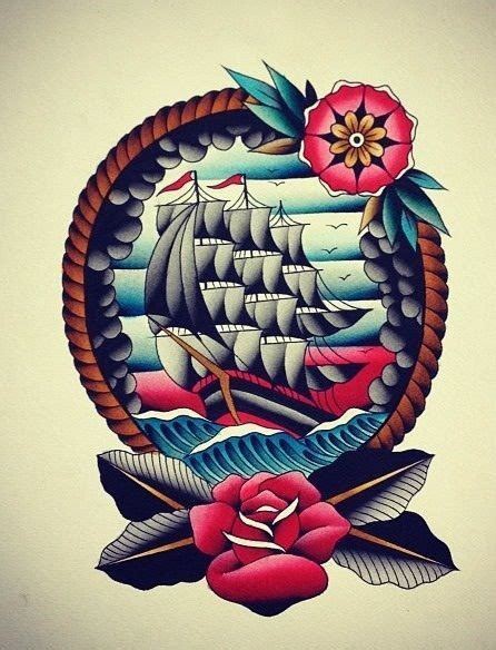 tattoo flash nautical 985 best old school traditional images on pinterest