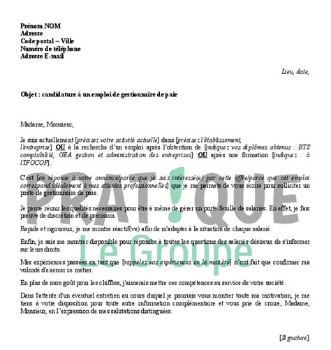 Lettre De Motivation Candidature Spontanée Ratp lettre de motivation gestionnaire employment application