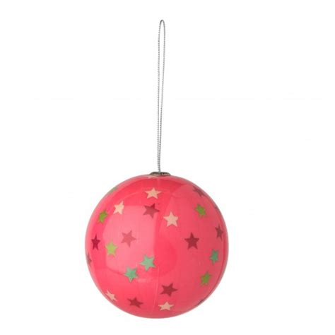 pink decoupage bauble from tesco direct christmas
