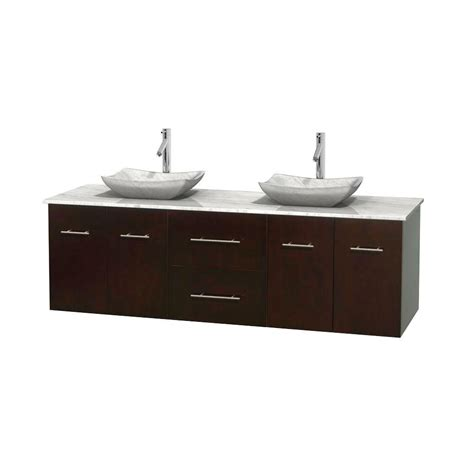 Home Depot Bathroom Vanity Tops Wyndham Collection Daytona 71 In Vanity In Espresso With