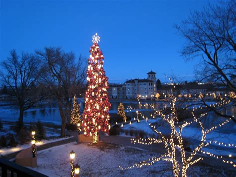colorado springs lights tour the broadmoor in colorado springs colorado at