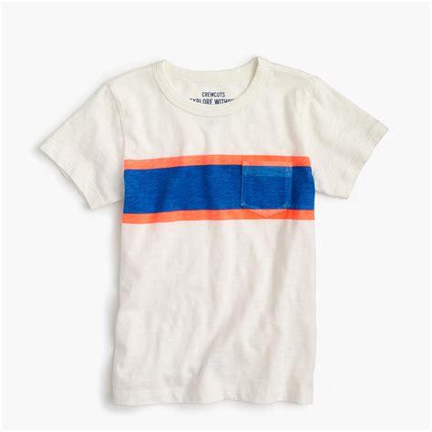 J 2733 Boys Tshirt boys striped pocket t shirt j crew