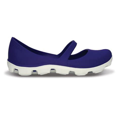 Crocs Duet Sport Maryjane Marijan Crocs Duet Sport Ultraviolet White Dual