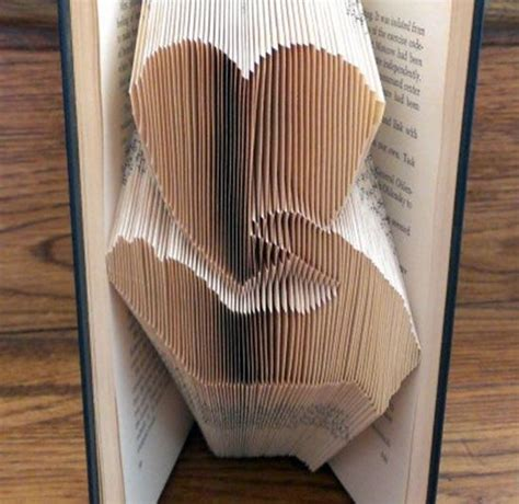 Folding Paper Book - book folding pattern by thefoldedbookco