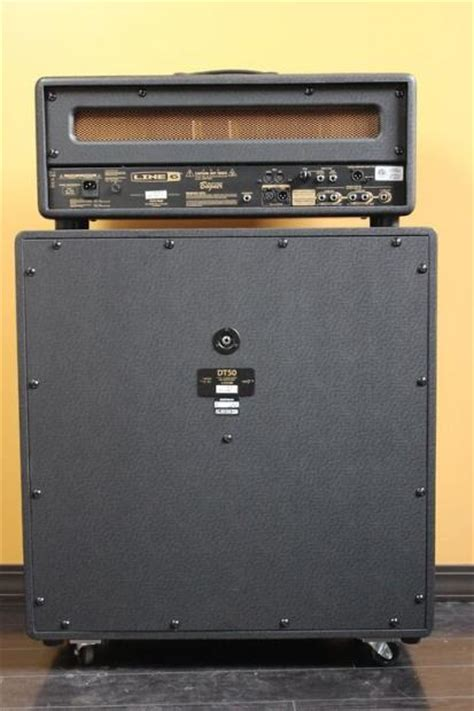 line 6 4x12 cabinet line 6 dt50 4x12 cabinet celestion vintage 30 reverb