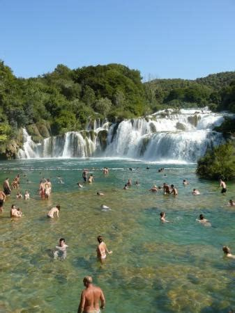and these are waterfalls of river krka.  picture of