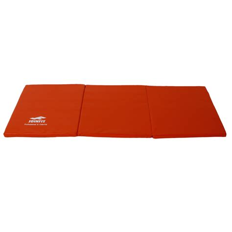 Padded Workout Mat by Tri Folding Exercise Thick Mat Workout Padded Non