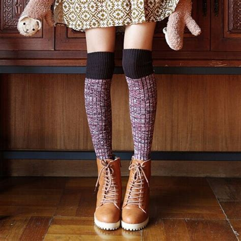 embroidered lobster stripe ankle sock simple accessories and 7 87 thicken simple wool socks