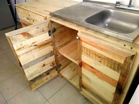 Made Of Pallets by Kitchen Wholly Made From Recycled Pallets 99 Pallets
